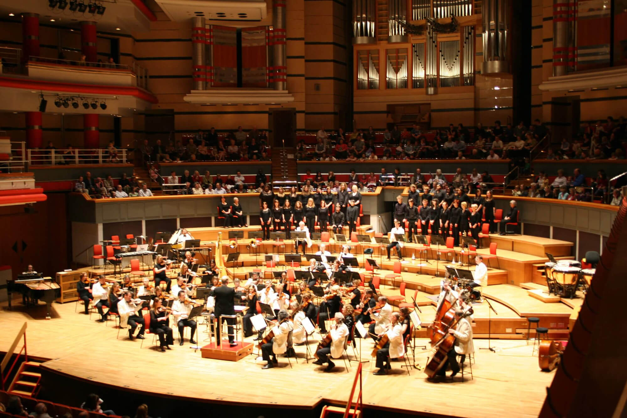 Performance of 'Boris the Baboon' with the CBSO, Symphony Hall, Birmingham, conducted by David Lawrence.