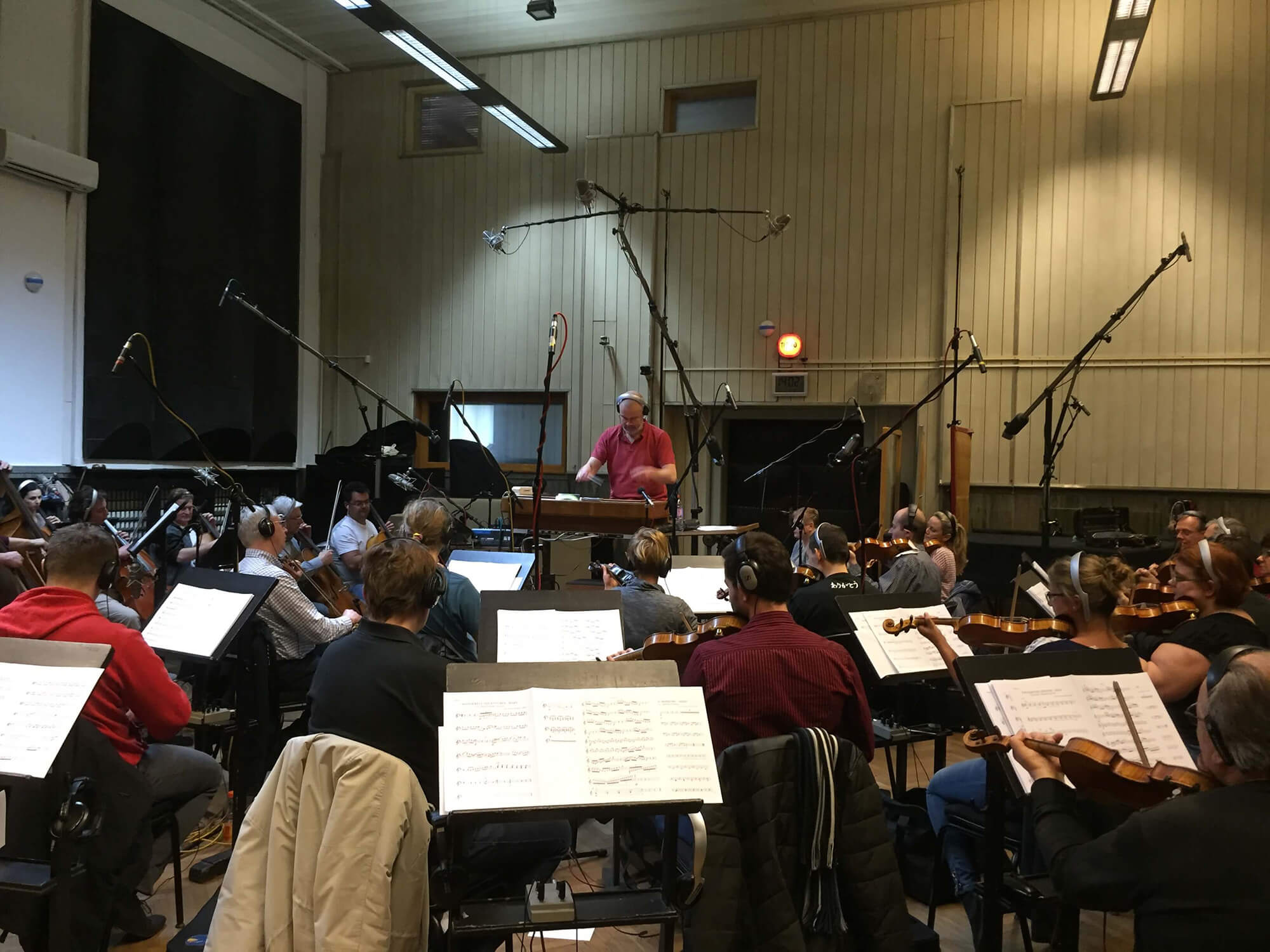 Universal 'Wonderful Adventures' sessions with the City of Prague Philharmonic Orchestra conducted by Pete Harrison.
